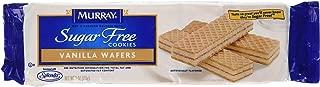 Murray, Sugar Free Vanilla Wafer Cookies, 9oz Package (Pack of 4)