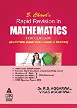 S. Chand's Rapid Revision in Mathematics for Class XII