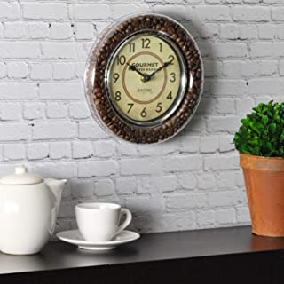 FirsTime & Co. Gourmet Café Wall Clock, 7.5