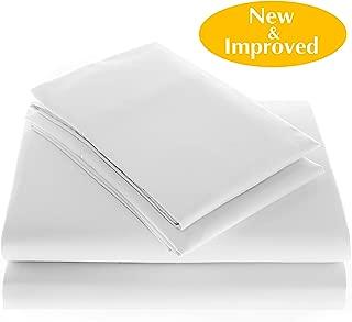 TL Care Home, Soft Microfiber Sheet Set, King (White)