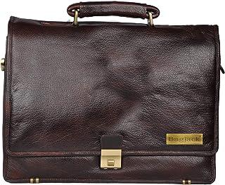 BAG JACK - Medusae | Most Popular Designs | Handcrafted | Natural Grain Leather | Men Office Bag | Leather Laptop Bag | La...