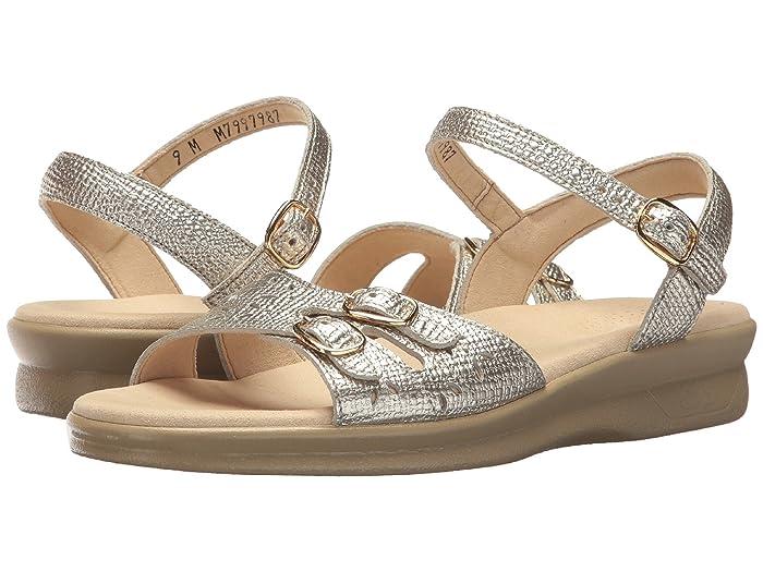 SAS Duo (Gold Linen) Women's Shoes