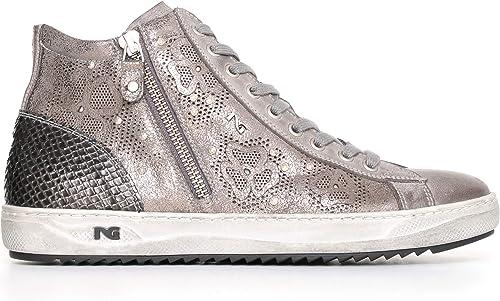 Nero giardini sneakers donna in pelle A719250D 104