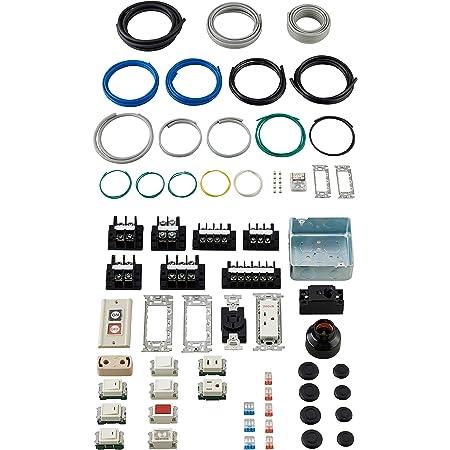 ホーザン(HOZAN) 令和3年 第一種電気工事士技能試験 練習用部材 DK-61 1回セット 特典ハンドブック・DVD付