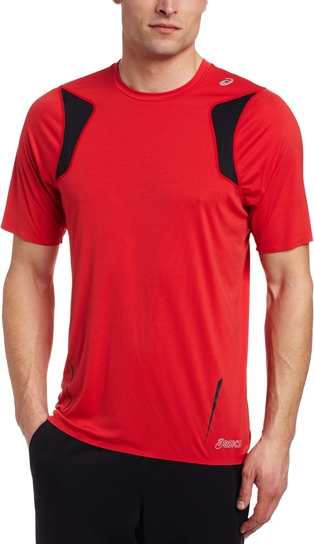 ASICS Men's 販売 Ard Short Shirt Sleeve 営業