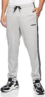 بنطال Adidas Men's Essentials 3 Stripes مدبب الطرف