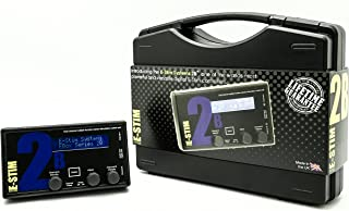 ESTIM Sistema 2B, Corriente Estimulante dispositivo para ESTIM, 2canales aislado, 17programas, sistema de audio con control de sonido integrado, fácil de usar