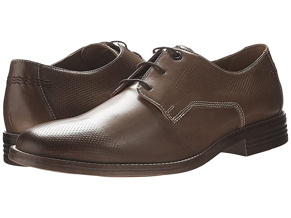 Hush Puppies Glitch Parkview (Tan Leather Perf) Men