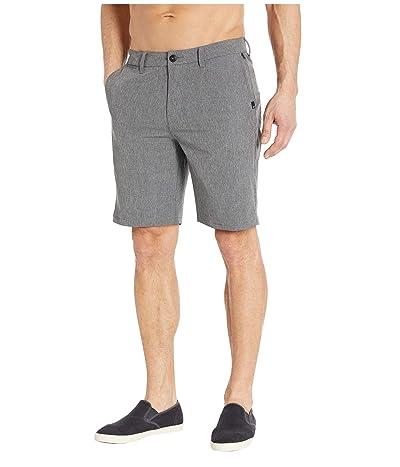 Quiksilver Union Heather Amphibian 20 Shorts (Black) Men