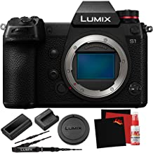 Panasonic Lumix DC-S1 Mirrorless Digital Camera (Body Only) - New - Full Frame 24.2 MegaPixel