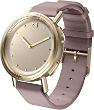 Misfit Wearables MIS5023 Misfit Path Smartwatch in Gold Tone with Lavender Sport Strap