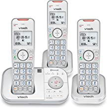 $52 » VTech VS112-37 DECT 6.0 Bluetooth 3 Handset Cordless Phone for Home with Answering Machine, Call Blocking, Caller ID, Inte...