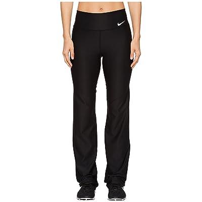 Nike Power Straight Training Pant (Black/White) Women