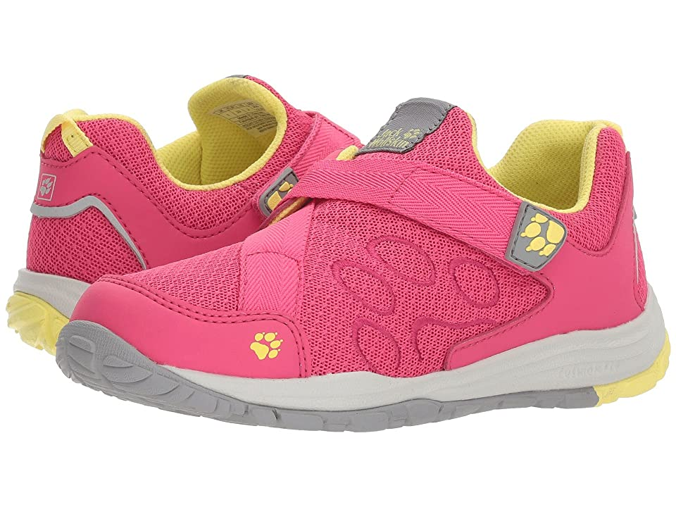 Jack Wolfskin Kids Monterey Ride VC Low (Toddler/Little Kid/Big Kid) (Tropic Pink) Girls Shoes