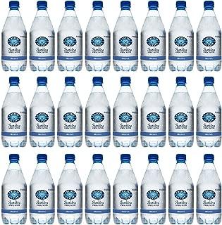 Crystal Geyser Sparkling Spring Water, Original Unflavored, 18 Fl. Oz. PET Bottles , No Artificial Ingredients, Sweeteners, Calorie Free (Pack of 24)