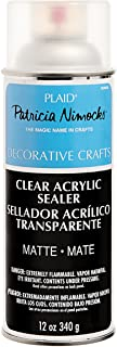 Plaid Patricia Nimocks Clear Acrylic Sealers (12-Ounce), CS200306 Matte