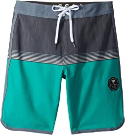 "VISSLA Kids Dredges Four-Way Stretch Boardshorts 17"" (Big Kids)"