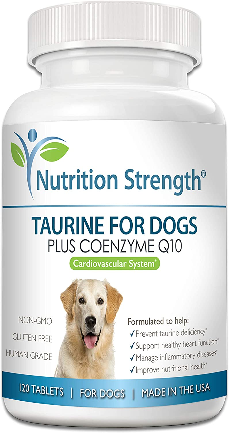 Nutrition discount Strength Taurine Gifts for Dogs Healthy Support a Heart