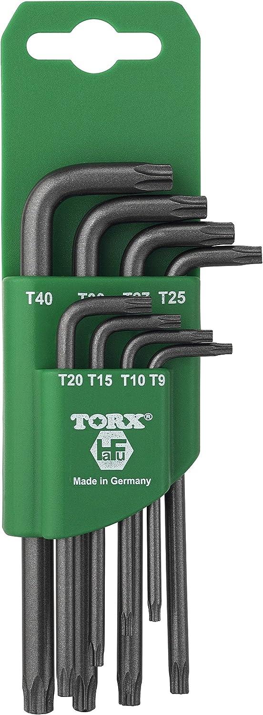 HAFU H581–380–08 Torx Tamper Schlüssel Set in Kunststoff – Clip – Schwarz Grün B01HRE6R1W | Sale Deutschland