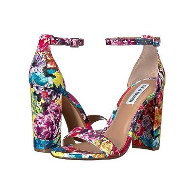 Steve Madden Carrson Heeled Sandal (Flower Multi) High Heels