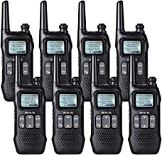 Retevis RT16 2 Way Radio Rechargeable Two Way Radio FRS Dual Watch FM Flashlight 121 Privacy Code VOX NOAA Long Range Walkie Talkie for Adult (8 Pack)