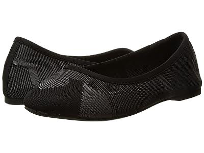 SKECHERS Cleo Wham (Black/Charcoal) Women