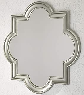Signature Design by Ashley - Desma Quatrefoil Framed Wall Mirror - Traditional - Champagne