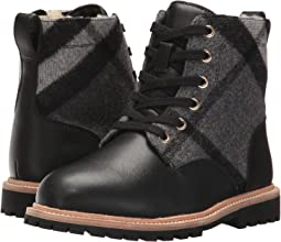 Check Lace-Up Weatherboots with Shearlin (Toddler/Little Kid)