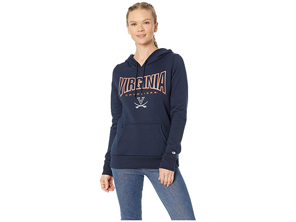 Champion College Virginia Cavaliers Eco(r) University Fleece Hoodie (Navy) Women