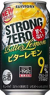 サントリー チューハイ -196℃ ストロングゼロ ビターレモン 350ml