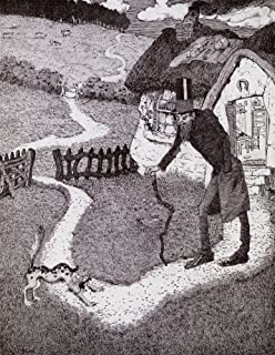 There Was A Crooked Man From the picture by Sidney H Sime from the book Princess Marie-Joss Childrens Book published 1916 Poster Print by Hilary Jane Morgan Design Pics (22 x 34)