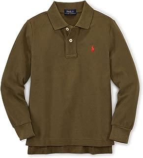 Polo Baby Boy Long Sleeve Cotton Polo Shirt British Olive
