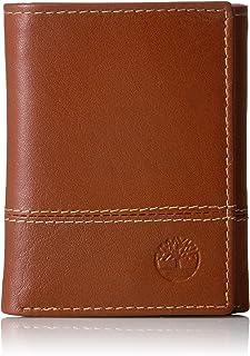 Timberland Men's Genuine Leather RFID Blocking Trifold Wallet