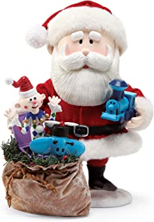 Department 56 Rudolph Santa & The Misfit Toys by Possible Dreams Figurine, 9.5