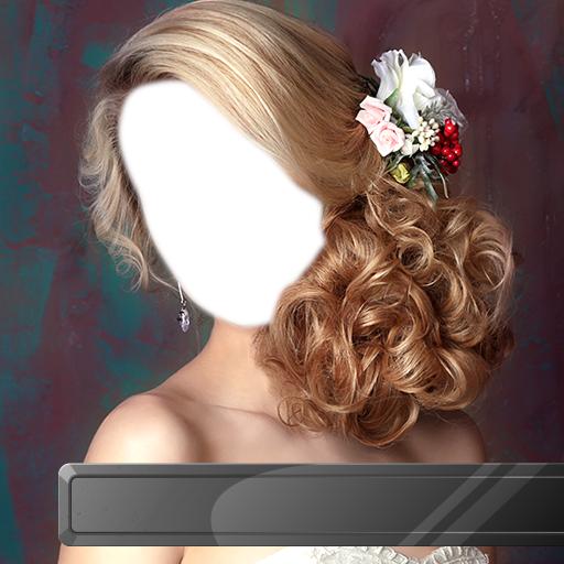 Montage de bandeau de mariée fleur
