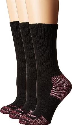 Cotton Crew Work Socks 3-Pair Pack