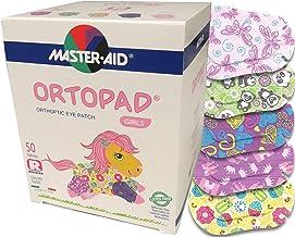 بامبو Ortopad برای دختران، پچ های چسبنده چشم، مواد نرمتر و طراحی های جدید (50 در هر جعبه) (اندازه منظم)