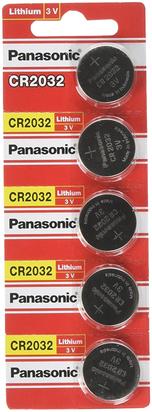(4pcs PLUS ONE FREE BATTERY) PANASONIC Cr2032 3v Lithium Coin Cell Battery for Misfit Shine Sh0az Personal Physical Activity Monitor by A World of Deals?