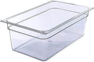 Carlisle 10203B07 StorPlus Full Size Polycarbonate Food Pan, 8