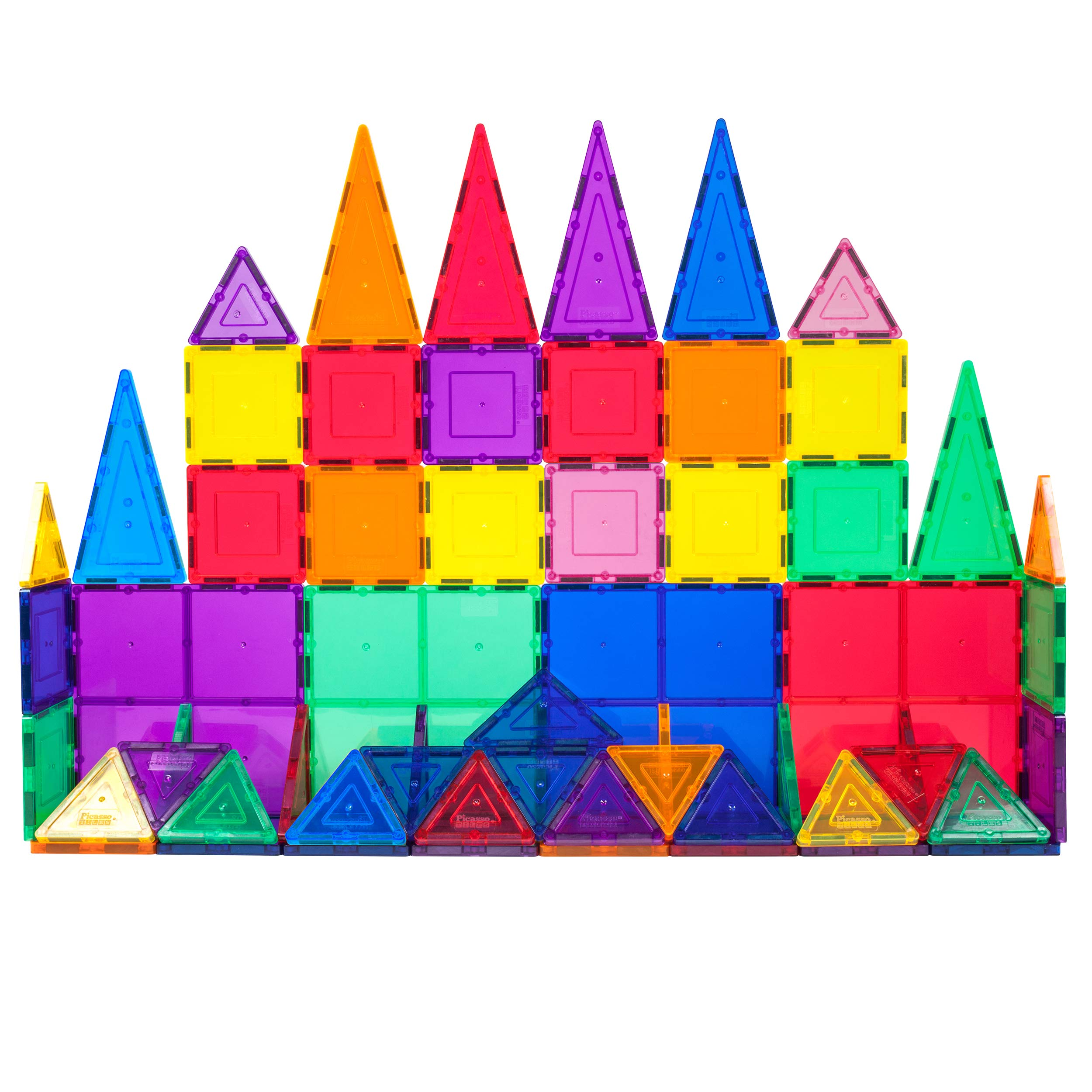 PicassoTiles Building Tiles Construction Playboards