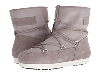 MOON BOOT Moon Boot Far Side Low Suede (Light Grey) Women