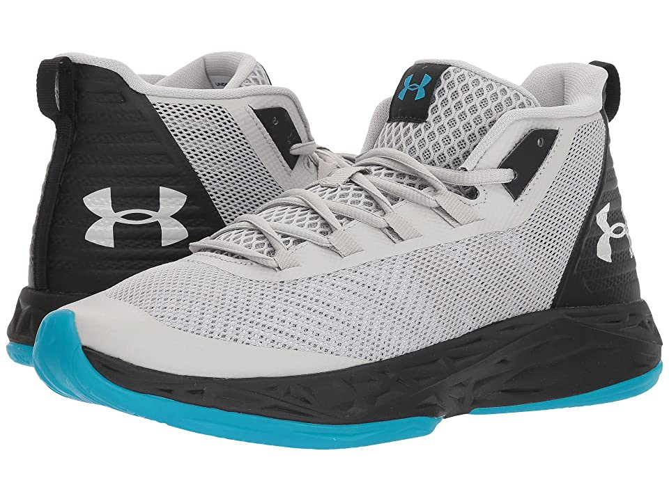 Under Armour UA Jet Mid (Ghost Gray/Black/Ghost Gray) Men
