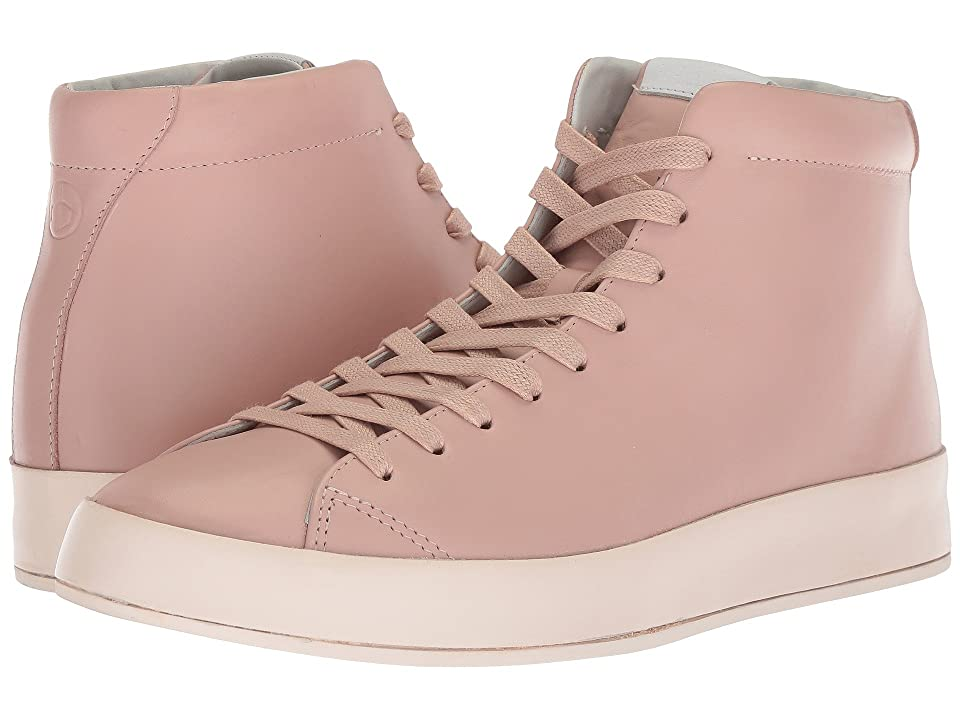 rag & bone RB1 High Top Sneakers (Pink Smooth Nappa) Men