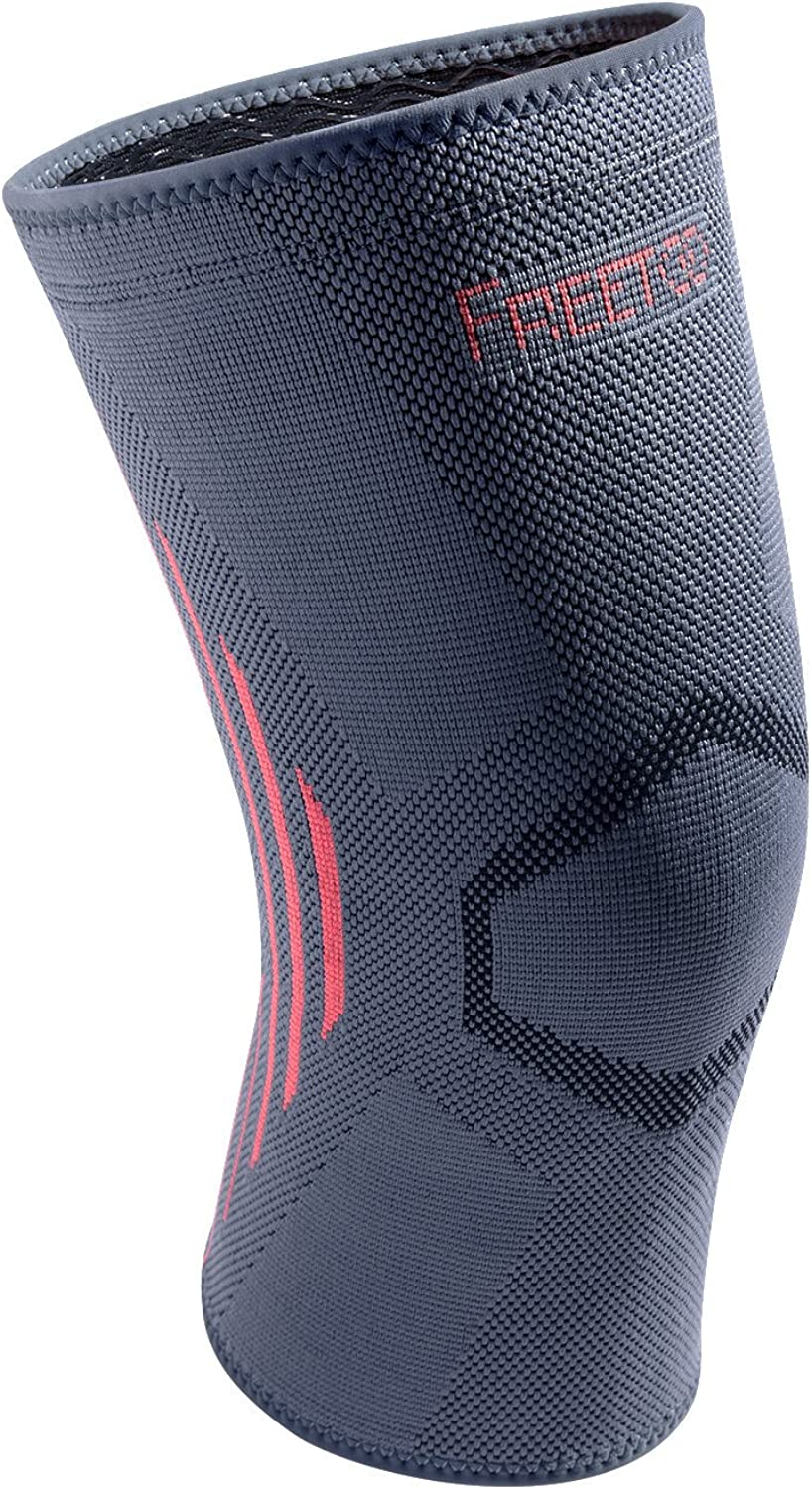 FREETOO Compression Knee Brace Knee Brace Knee Compression Sleeve Support for Running Sports Basketball Jogging Arthritis Joint Pain Relief Injury RecoverySingle