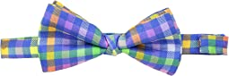 Etro Plaid Bow Tie
