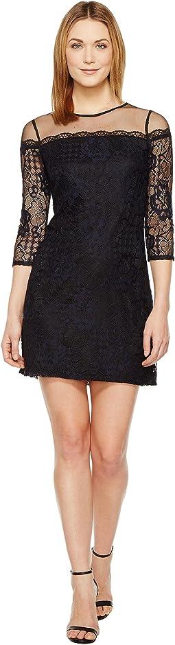 Adele Lace Shift Dress