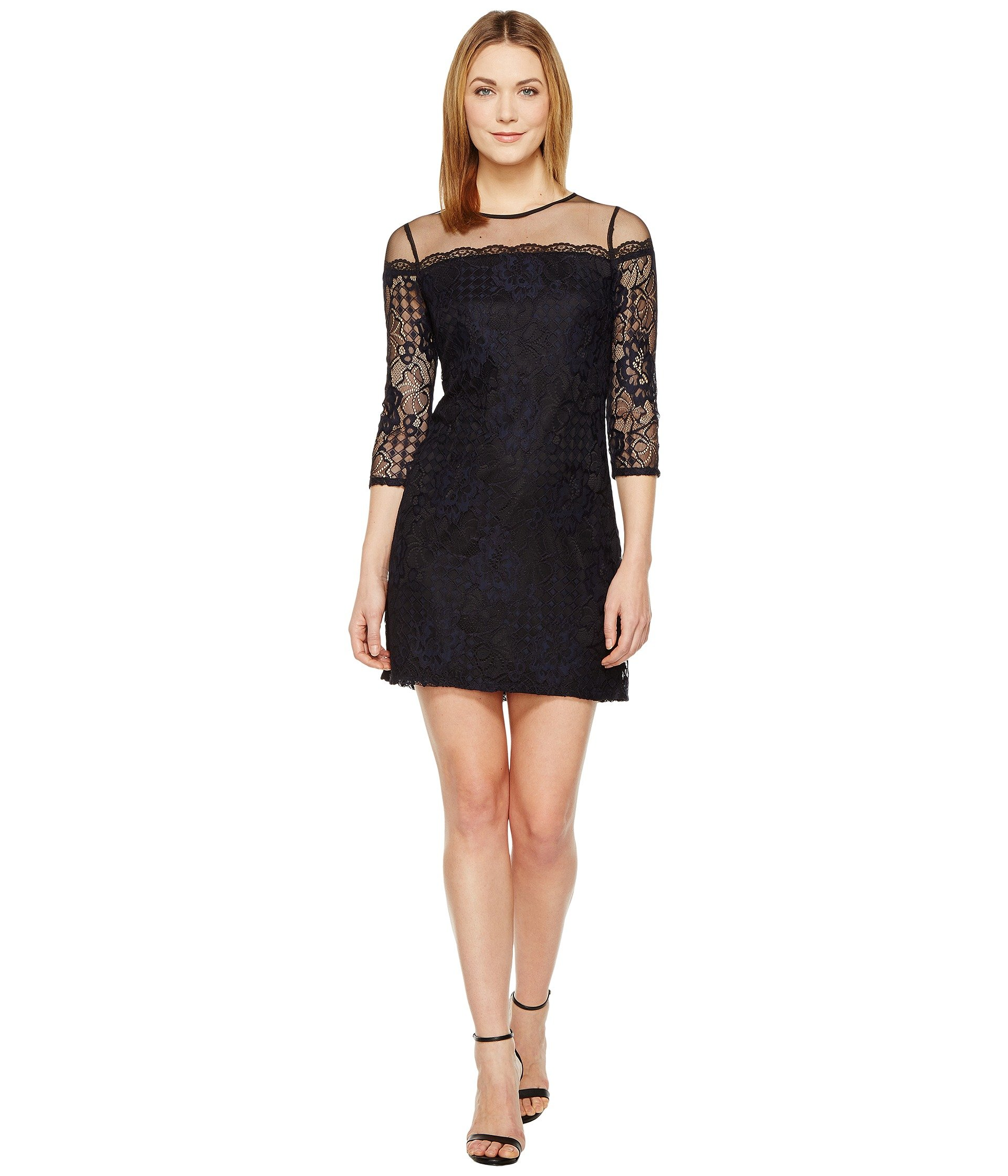 Vestido para Mujer Adrianna Papell Adele Lace Shift Dress  + Adrianna Papell en VeoyCompro.net