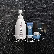 Voroly Magic Sticker Bathroom Corner Shelves and Racks Shower Caddy Shelf Stainless Steel