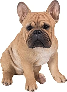 Hi-Line Gift 87765-B French Bulldog Squatting Statue
