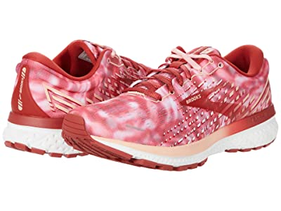Brooks Ghost 13 (Coral/Bossa Nova/White) Women